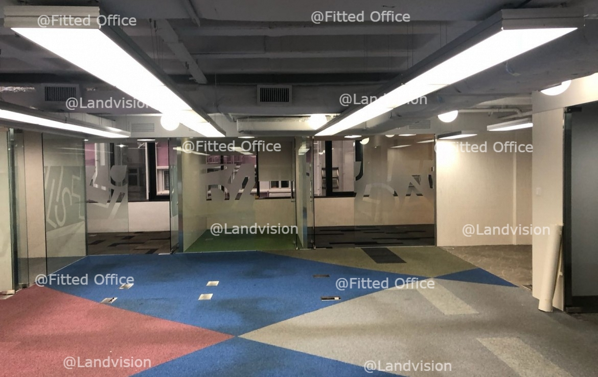 Fitted Office In Hong Kong At Hunghom Commercial Centre B紅磡商業 - Hom commercial flooring
